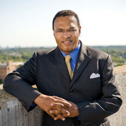 Dr. Freeman A. Hrabowski, III, President of UMBC (The University of Maryland, Baltimore County)